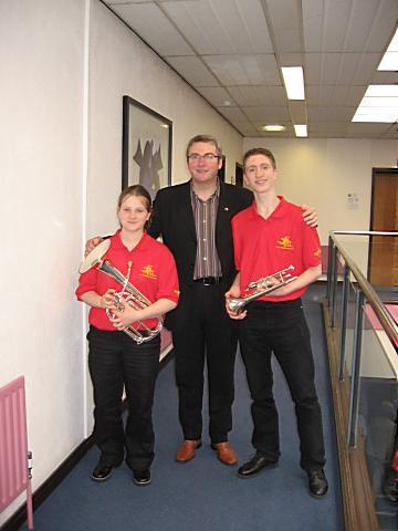 Brass band Sagona - Retour de Birmingham - Sophie                   Budelot et Benjamin Richeton