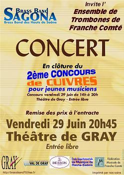 2ème concours et concert vendredi 29 juin                   2007