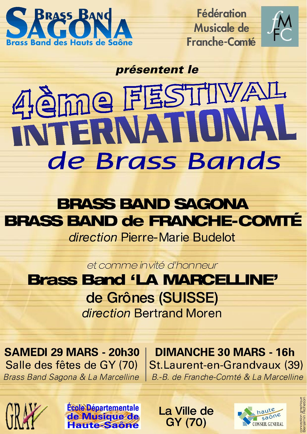 4ème festival international de brass                   bands